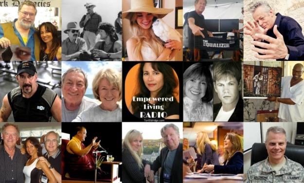 Empowered Living Radio Collage