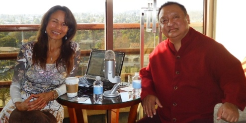 Tori and Rinpoche 663x333