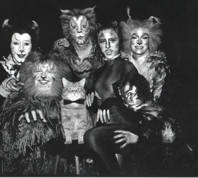 Tori as Tantomile (bottom right) First National Co. - Boston 1984