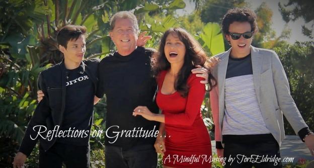 Reflections on Gratitude...